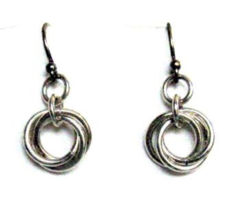 Signature Silver Earrings